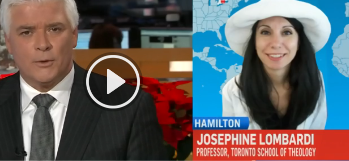Click to see CTV National News Video Network interviews with Dr. Josephine Lombardi